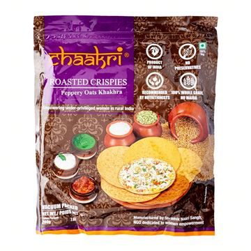 Picture of Chaakri Peppery Oats Khakhra