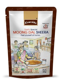 Picture of KEMCHHO Moong Dal Sheera Ready To Eat