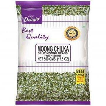 Picture of Kitchen Delight Green Moong Dal Split (Chilka)