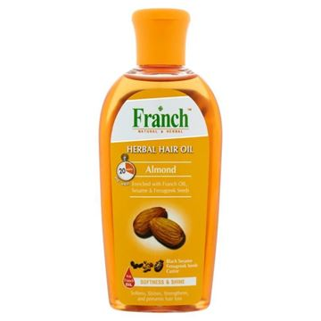 Picture of FRANCH Almond Herbal Hair Oil