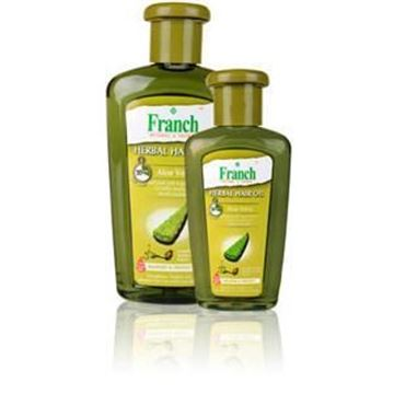 Picture of FRANCH Alovera Herbal Hair Oil