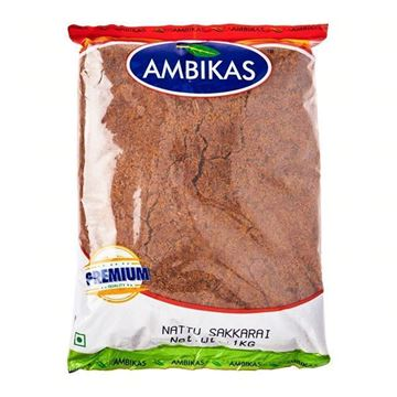 Picture of Ambika's Raw Cane Sugar (Nattu Chakkarai)