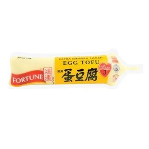 Picture of  Fortune Extra Smooth Silken Egg Tofu with Omega 3 (TUBE)