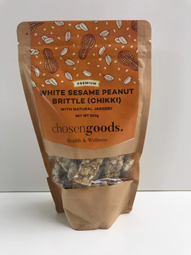 Picture of Chosengoods White Sesame & Peanut Brittle Candy