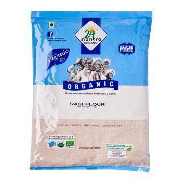 Picture of 24 MANTRA Ragi Flour (Certified ORGANIC)