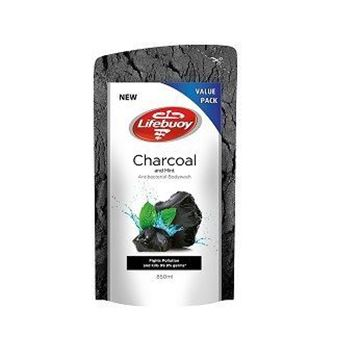 Picture of Lifebuoy Body Wash Charcoal and Mint  Refill