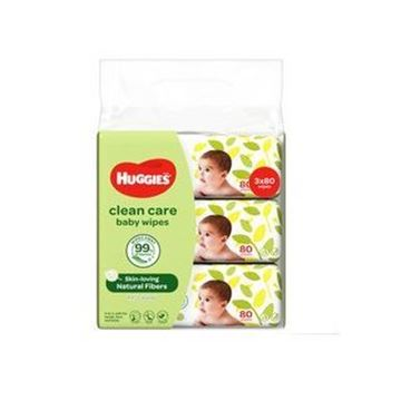 Picture of Huggies Clean Care Baby Wipes