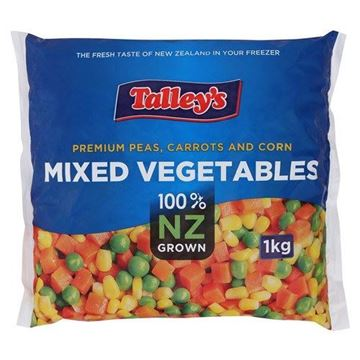 Picture of Talleys Tender Garden Mixed Vegetables (Chilled)