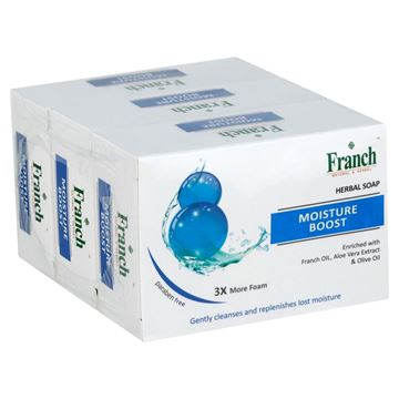 Picture of FRANCH Natural & Herbal  Moisture Boost Soap