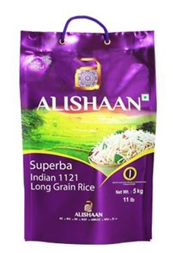 Picture of Alishaan 1121 Long Grain Basmati Rice