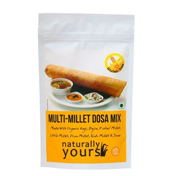 Picture of Naturally Yours Multimillet Dosa (Certified ORGANIC) Mix