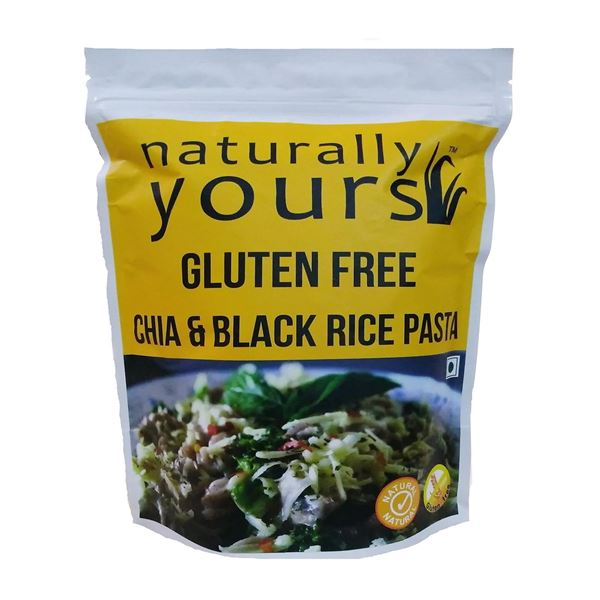 Picture of Naturally Yours Gluten Free Chia & Black Rice Pasta (Certified ORGANIC)