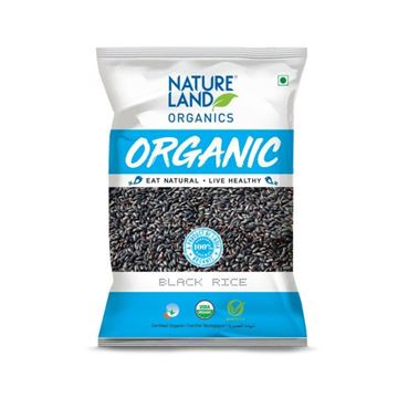 Picture of NATURELAND Black Rice Premium Quality (Certified ORGANIC)