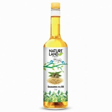 Picture of NATURELAND White Sesame Oil (Certified ORGANIC)