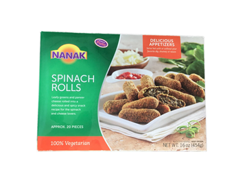 Picture of NANAK Tasty Spinach Rolls (Chilled)