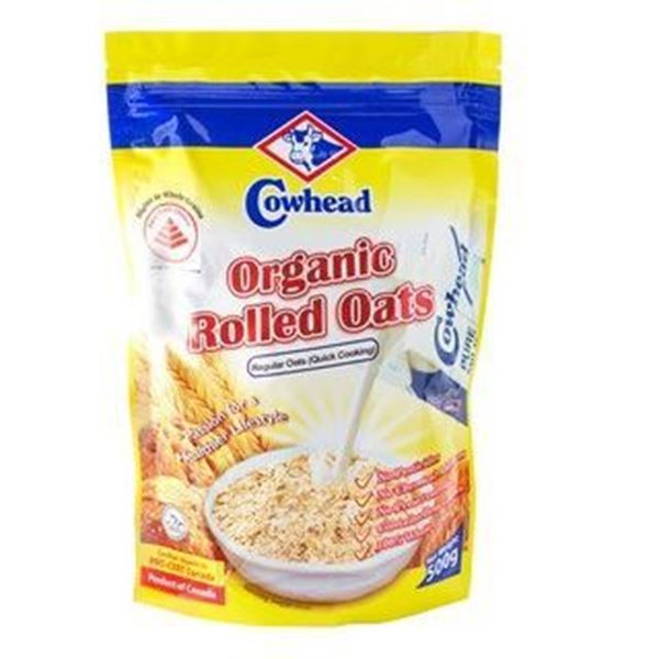 Picture of Cowhead Organic Rolled Oats Quick Cook