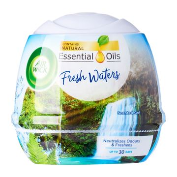 Picture of Air Wick Aromatic Fresh Waters Natural Oil Scented Air Freshener Gel
