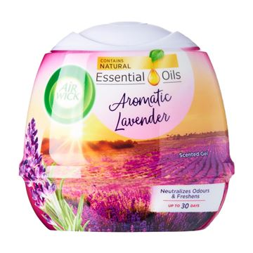 Picture of Air Wick Aromatic Lavender Natural Oil Scented Air Freshener Gel