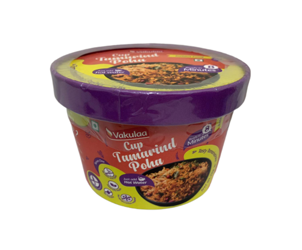 Picture of Vakulaa Premium Ready To Eat Cup Tamarind Poha
