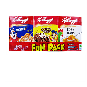 Picture of Kellogg's School Fun Pack Cereal