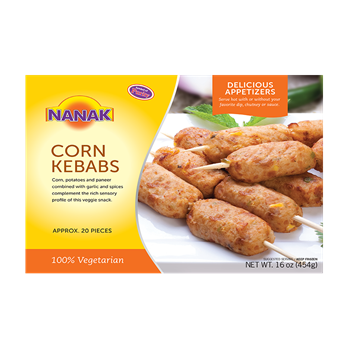 Picture of NANAK Delicious Corn Kebab (Chilled)