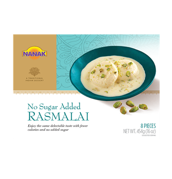 Picture of NANAK No Sugar Added Rasmalai (Made From Milk) Chilled