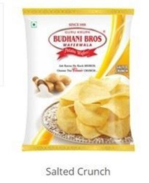 Picture of Budhani Potato Wafers Salted Crunch