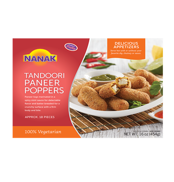 Picture of NANAK Tasty Tandoori Paneer Poppers (Chilled)
