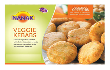 Picture of NANAK Delicious Veggie Kebab (Chilled)
