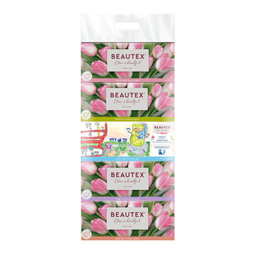 Picture of BEAUTEX 3 Ply Facial Tissues Box