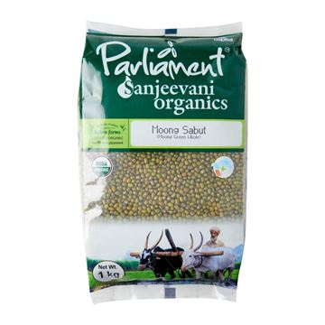 Picture of PARLIAMENT Green Moong Dal Whole (Certified ORGANIC)
