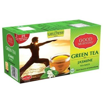 Picture of WAGH BAKRI Jasmine Flavoured Green Tea Bags