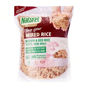Picture of Naturel ORGANIC Mixed Brown & Red Rice