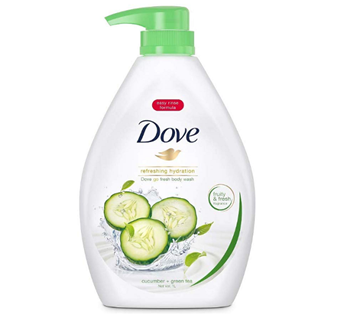 Picture of Dove Go Fresh Cucumber & Green Tea Body Wash
