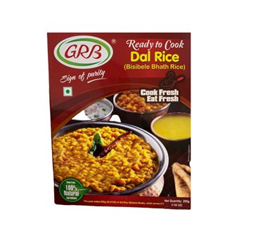 Picture of GRB Bisibele Bhath Dal Rice Mix (Ready To Cook)