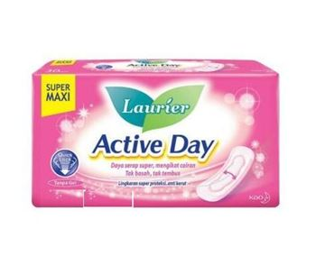 Picture of Laurier Active Day Slim With Wings Sanitary Napkin 22 Cm