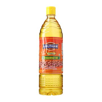 Picture of Amutham Cold/Wood Press Groundnut Oil