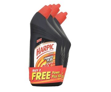 Picture of Harpic Power Plus Active Cleaning Gel Triple Pack