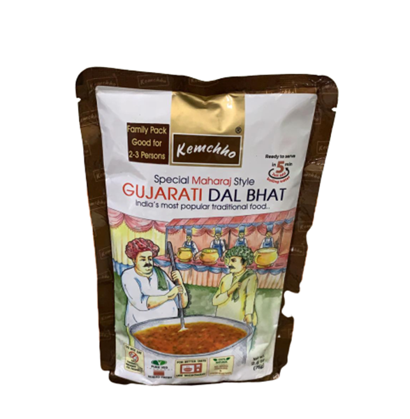 Picture of KEMCHHO Gujarati Dal Bhat Ready To Eat