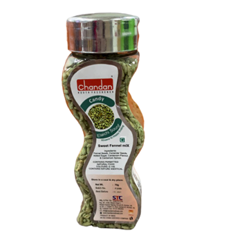Picture of Chandan Mouth Freshener Elaichi Sounf (Sweet Fennel Mix with Cardamom Flavored)