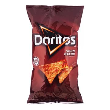 Picture of Doritos Spicy Nacho Tortilla Chips
