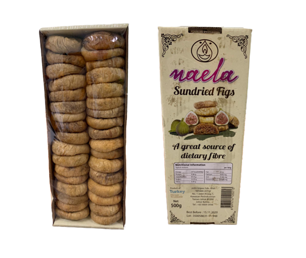 Picture of Naela Sundried Figs (Turkey)