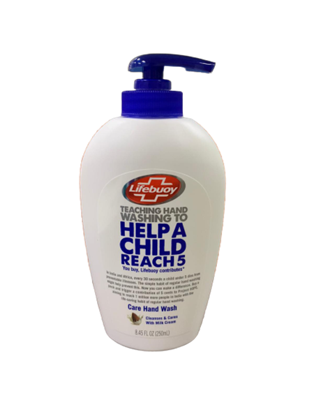 Picture of Lifebuoy Care Hand Wash With Milk Cream