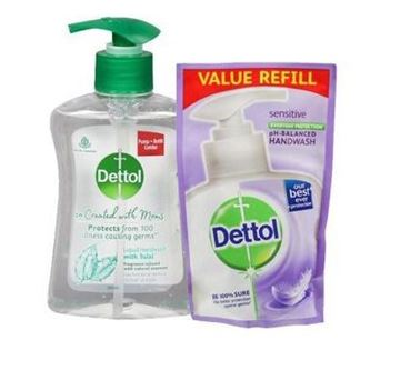 Picture of Dettol Liquid Hand Wash with Tulsi Bottle