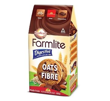 Picture of Sunfeast Farmlite Oats Fiber With Chocolate Cookies