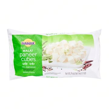 Picture of NANAK Malai Paneer Diced CUBES (Chilled)