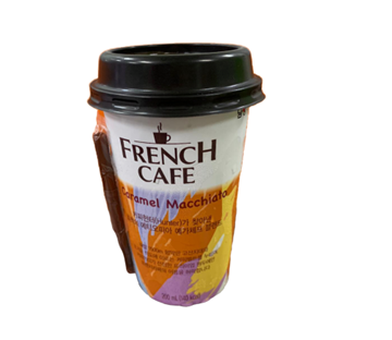 Picture of French Cafe Caramel Macchiato Drink (Chilled)