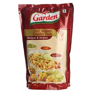 Picture of Garden Instant Bhel Mix 2 in 1 Combo Pack