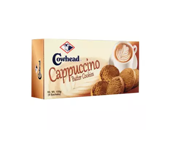 Picture of COWHEAD Cappucino Butter Cookies (Biscuits)