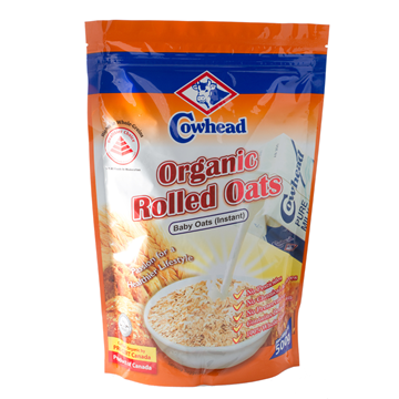 Picture of Cowhead Organic Rolled Oats Instant (Baby Oats)
